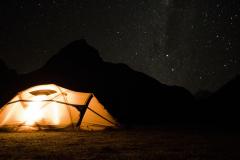 Notti stellate nella Cordillera Huayhuash