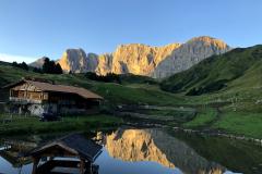 Scatto da Rifugio Molignon - Alpe Siusi